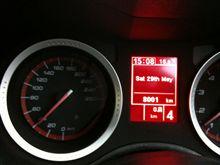 159TI  8,000km。