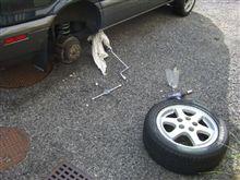 タイヤ交換&足回り点検