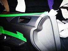 DIY 第3弾 ドアパネルにダイノックシート貼り付け