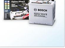 夏場の大渋滞でも安心! 長寿命バッテリーボッシュハイテックシルバーII誕生。