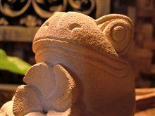 蛙の置き物