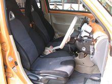 RX-8のシートを取り付ける