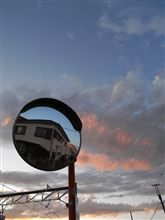 ◎今月の一葉・・・空とカガミ GX100