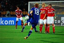 2010W杯 グループE 第3節 日本 対 デンマーク