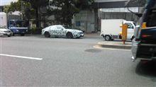 偽装車発見
