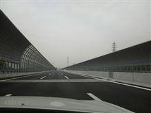 第二京阪道路を試走