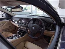 BMWのインテリア