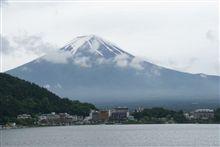 4/6:朝箱ならぬ、朝富士山(河口湖より)