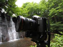 EOS-1nで滝の撮影に挑戦