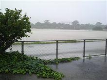 大雨でしたね・・・