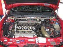 メンテナンスは大事...アルファロメオ156 V6..ビルフラ+ドクターカーボン+レデューサー