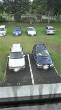 やっと駐車場へ復帰v