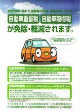 自動車絡みの税金 「取得税」