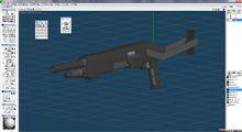 ARX-7 オットー・メララ「ボクサー」57mm散弾砲 WIP