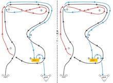 バトルジムカーナRd.2コース図