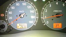 56,000kmになった(四日前・・・)