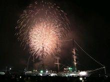 長崎帆船祭り花火大会