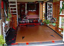 今日でAW11の車庫の改装は完了にします、
