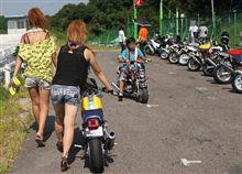 鈴鹿に4耐バイクレース…ではなく、4ストミニバイクイベントを見に行ってきました。