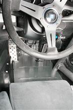 Z4 Mクーペ用 ヒールアジャストプレート・ドライバーフットレスト