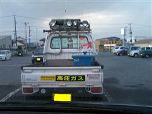 凄まじいサンバートラックですわ( Д )  ゚  ゚