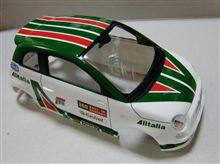 FIAT ABARTH 500 作製中