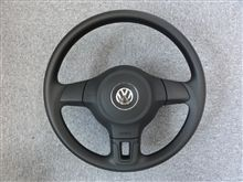 ★本日の作業 2010 VW Polo Comfortline ステアリング加工その1★