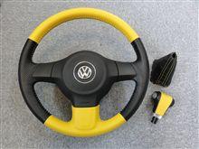 ★本日の作業 2010 VW Polo Comfortline ステアリング加工その2★