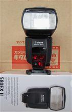 Canon 580EXⅡ買いました(^ω^)/