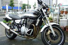 バイクがぁ・・・