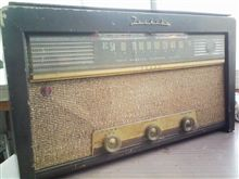 真空管ラジオ(東芝製)