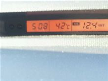 暑さのせいで