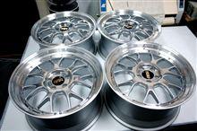 BBS-LM-RがBBS-RS-GT・MP(ミラーポリッシュ)限定発売品と同質仕上げ編