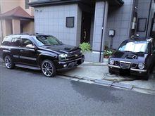 洗車完了♪2台!!!