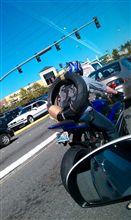 タイヤは背負うモノ?