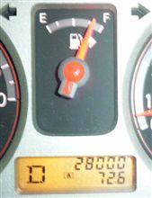 28000km通過