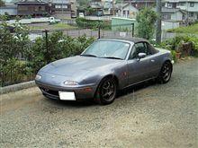 洗車のち雨。