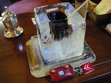 氷の器のアイスコーヒー