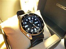 腕時計購入。