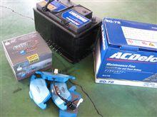 メンテナンスは大事...ゴルフⅤ...ブレーキパット&バッテリー交換