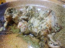 チキンのバジルソース漬けオーブン焼き(長い)