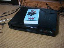 VHSデッキ