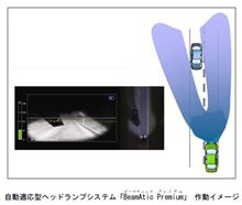 【くるま放談】 常時ハイビームで走れるヘッドランプ !?