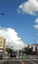 夏の終わりの 入道雲