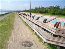 世界一長いベンチ...