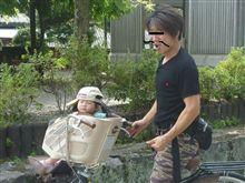 家族でサイクリング!!(耶馬溪サイクリングロード)