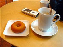 禅カフェでお茶