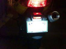 YAMAHA製バイクのLED化