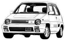 本日のクルマCM 「ホンダ シティ・ターボⅡ」