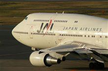 JALの国内ジャンボがあと2機に...